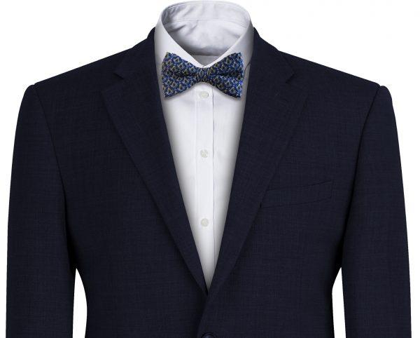 Blue Mason Bow Tie