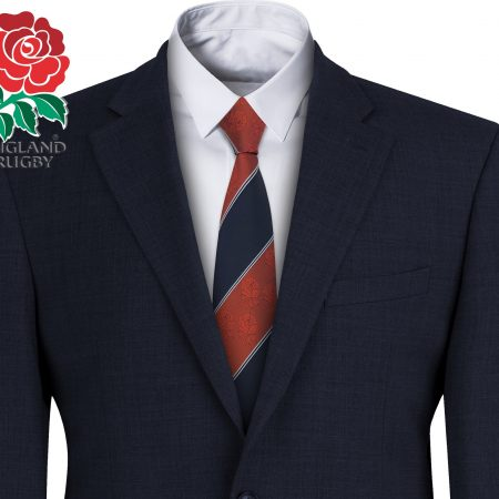 England Rugby Mens Striped Tie