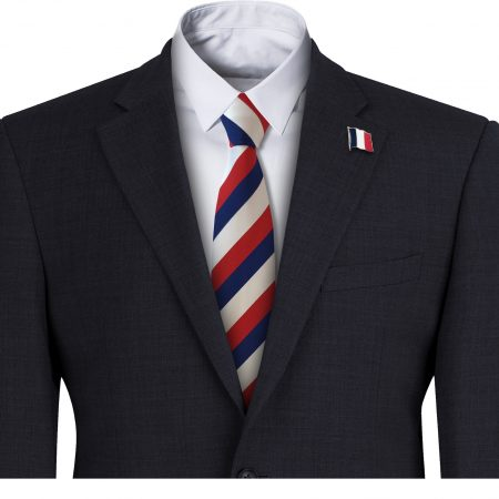 French Flag Mens Tie