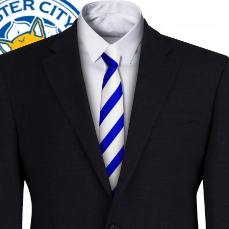Leicester City FC Style Football Tie