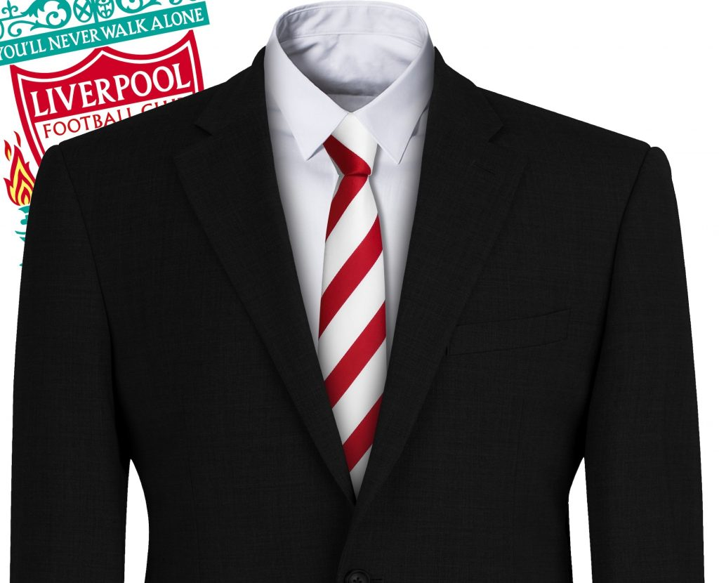 Liverpool FC Style Football Tie