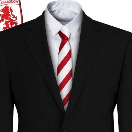 Middlesborough FC Style Football Tie