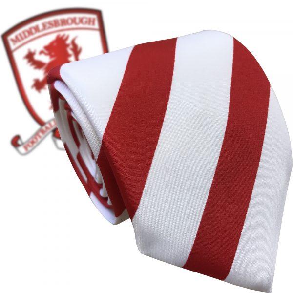 Middlesborough FC Style Football Tie