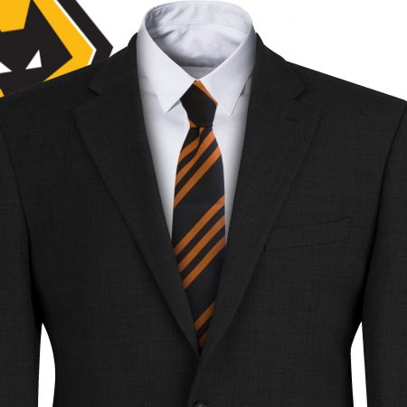 Wolverhampton Wanderers FC Style Wolves Football Tie